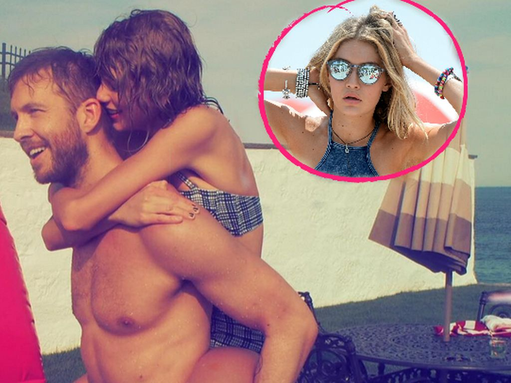 Gigi Hadid, Calvin Harris und Taylor Swift