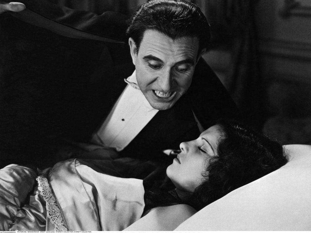 Carlos Villarias und Lupita Tovar in Dracula