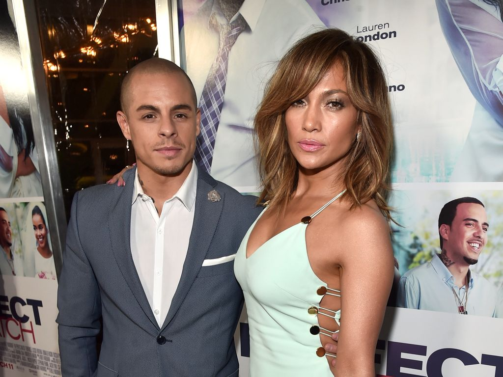 Casper Smart und Jennifer Lopez bei einer Premiere in Hollywood