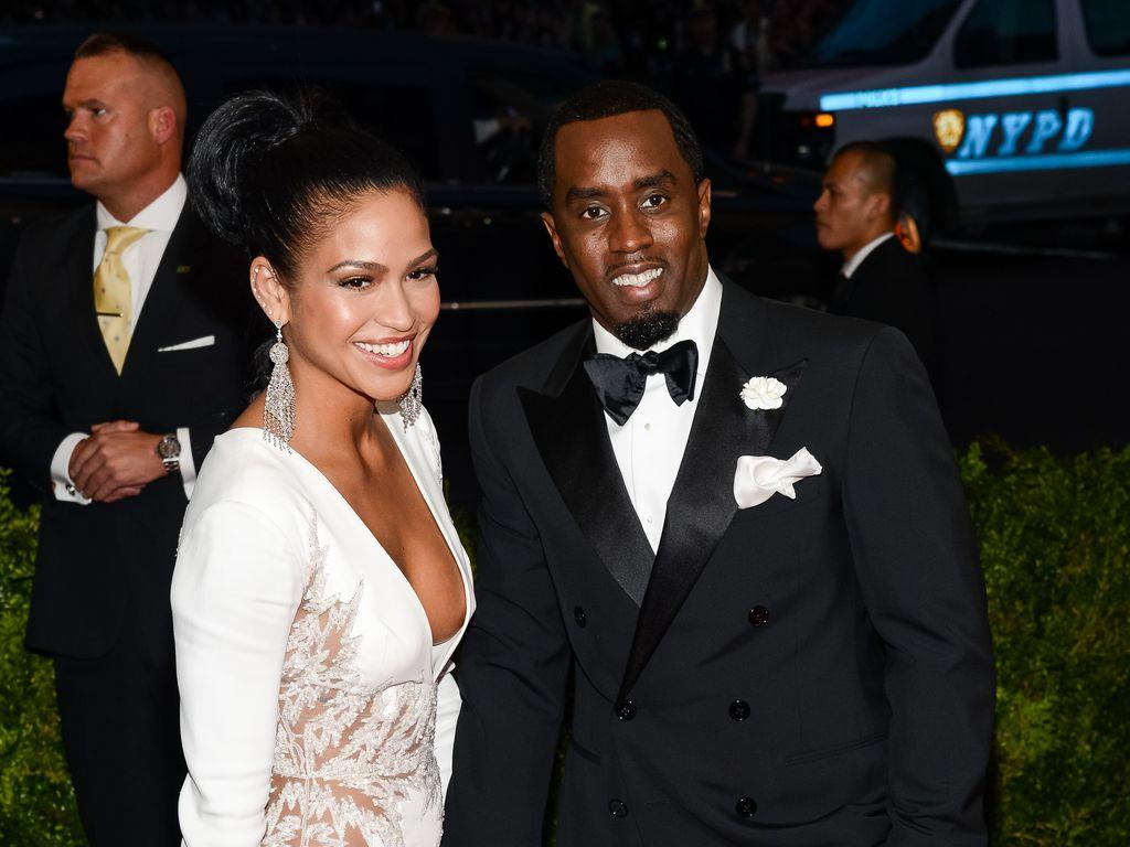 Cassie und P. Diddy auf einer Gala in New York City