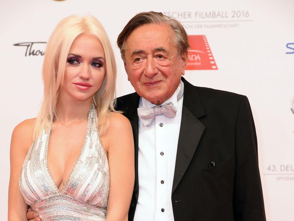 Cathy und Richard Lugner beim Deutschen Filmball 2016