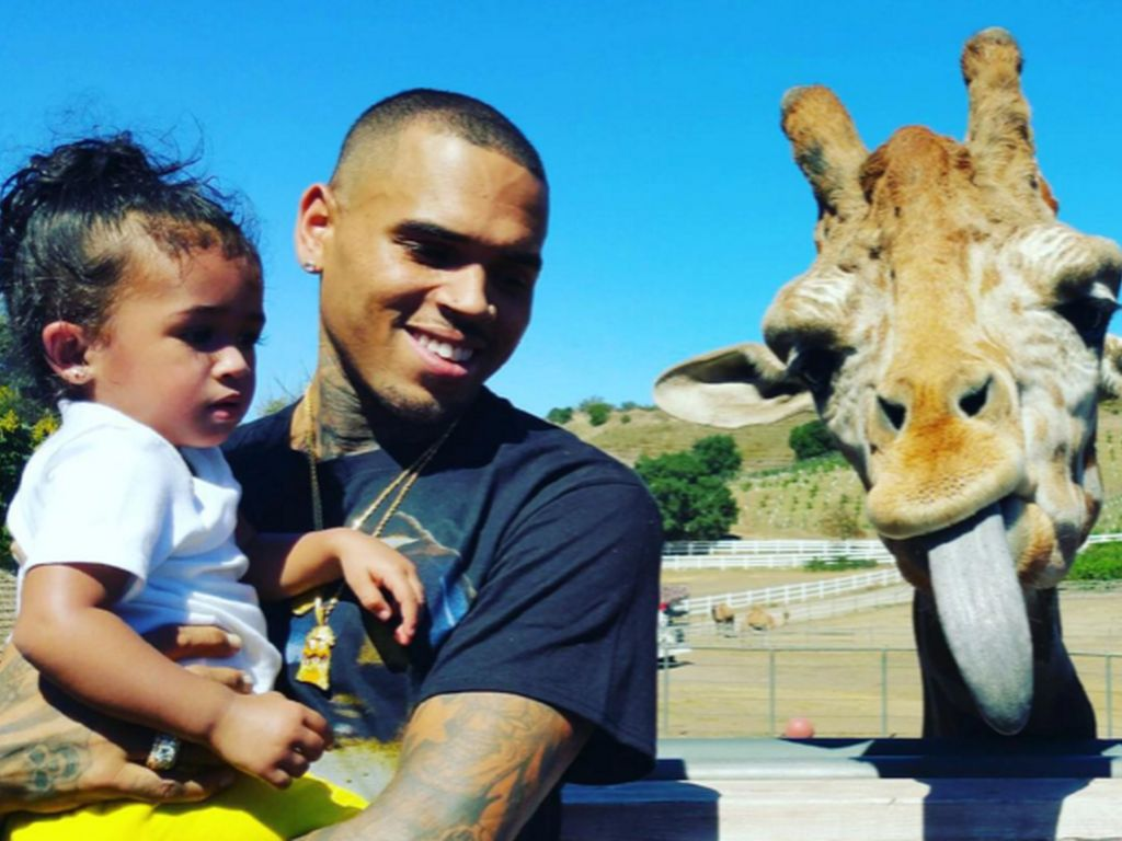 Chris Brown mit Tochter Royalty Brown