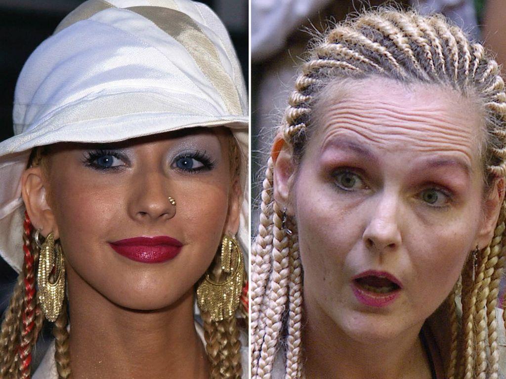 Christina Aguilera und Helena Fürst