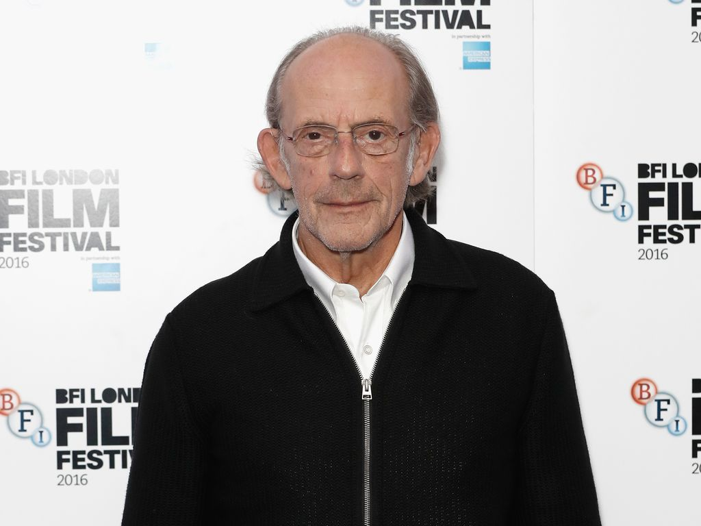 Christopher Lloyd bei einer Film-Premiere in London