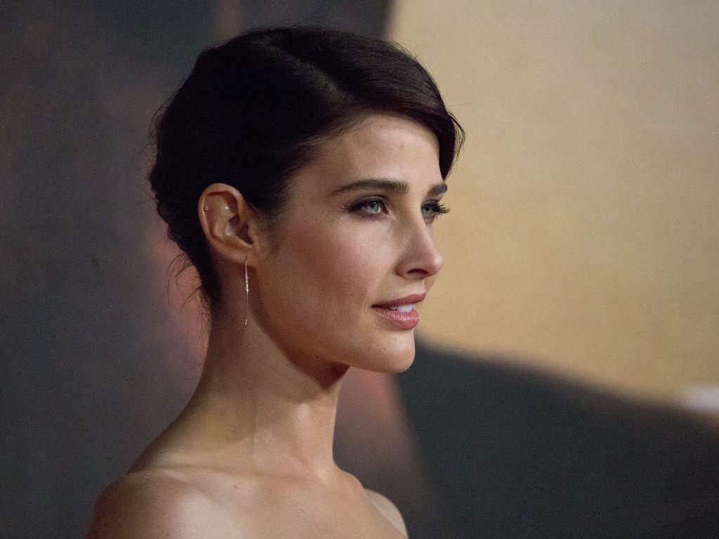 Cobie Smulders auf einer Filmpremiere in London