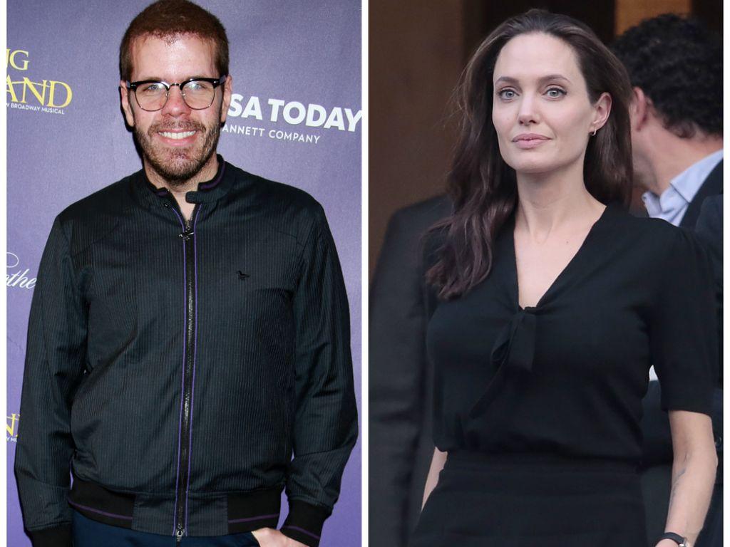 Kult-Blogger Perez Hilton und Hollywood-Star Angelina Jolie