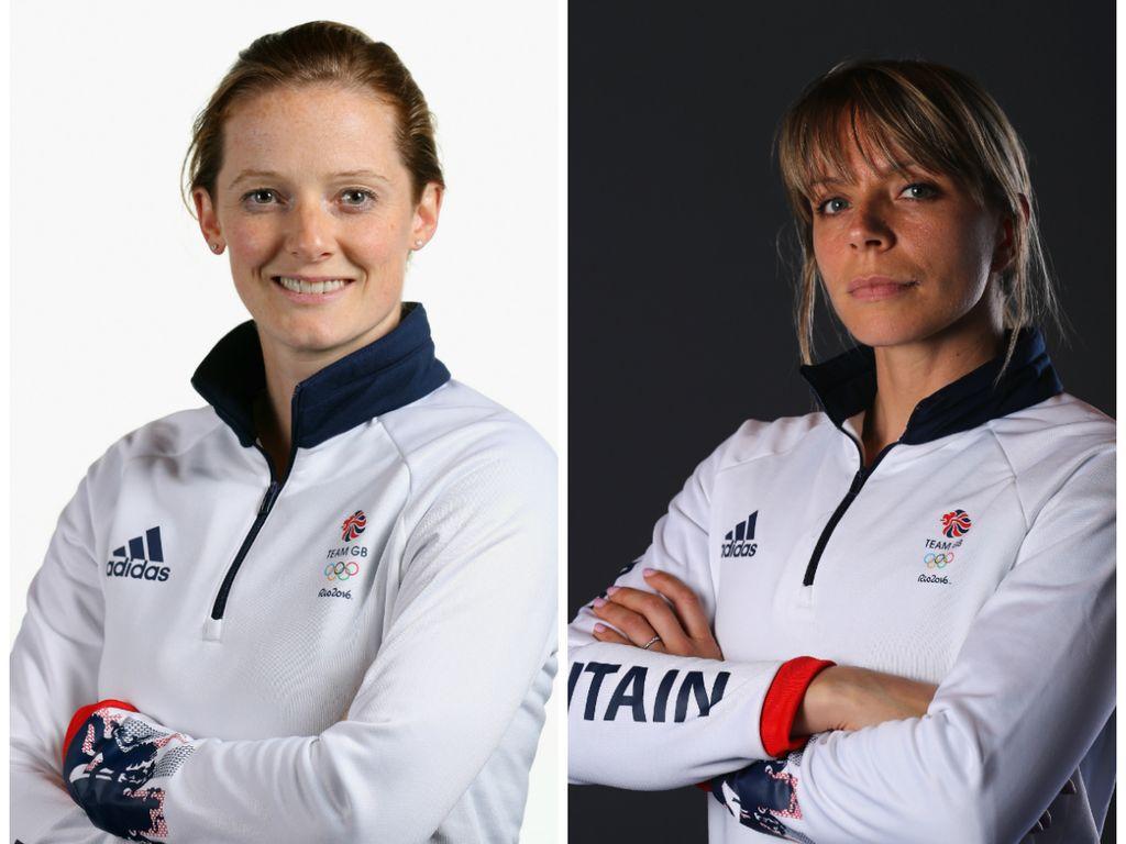 Olympisches Gold-Ehepaar: Helen (l.) und Kate Richardson-Walsh