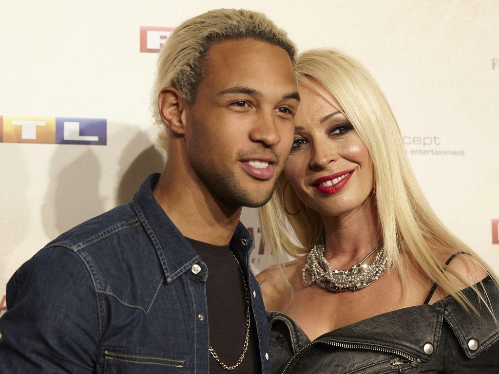 Simon Desue und Cora Schumacher