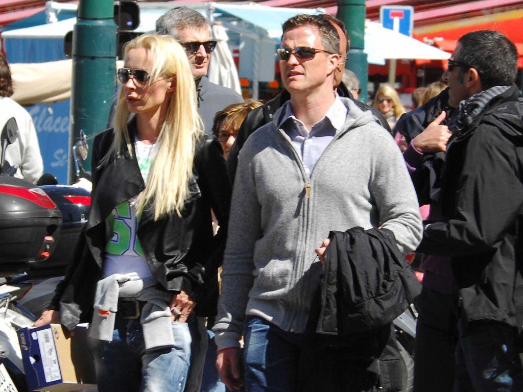 Cora Schumacher und Ralf Schumacher