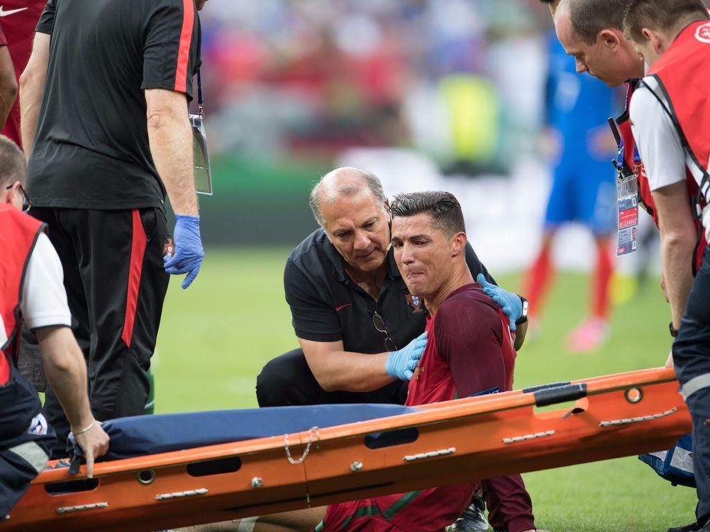 Cristiano Ronaldo während des EM-Endspiels