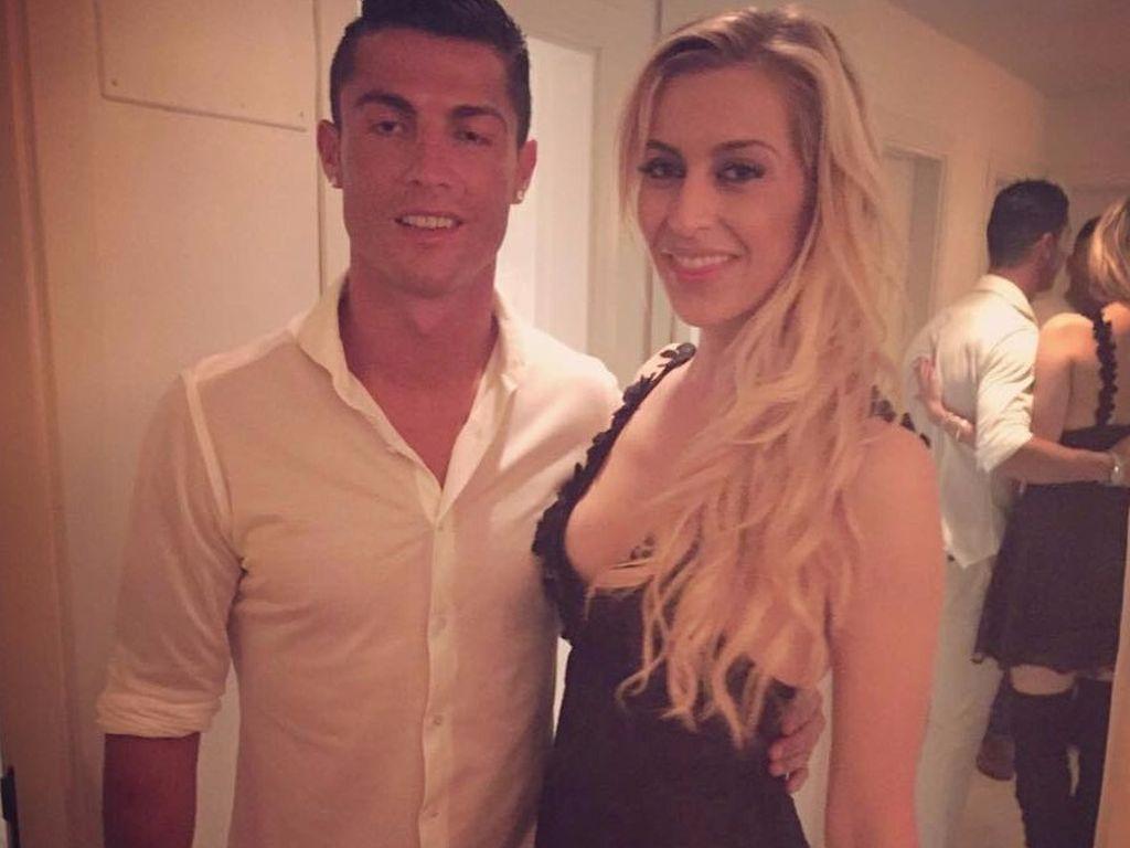 "Cristiano Ronaldo und Verena Kerth im Restaurant ""Lio"" auf Ibiza"