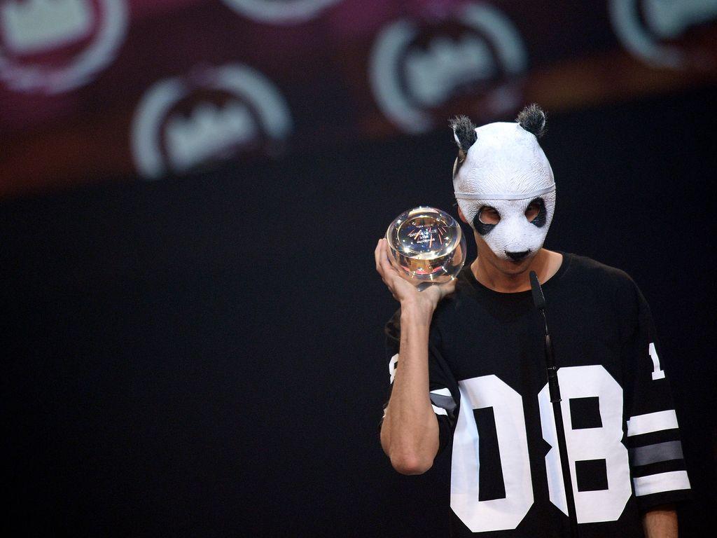 Cro auf dem 1Live Krone Award 2014