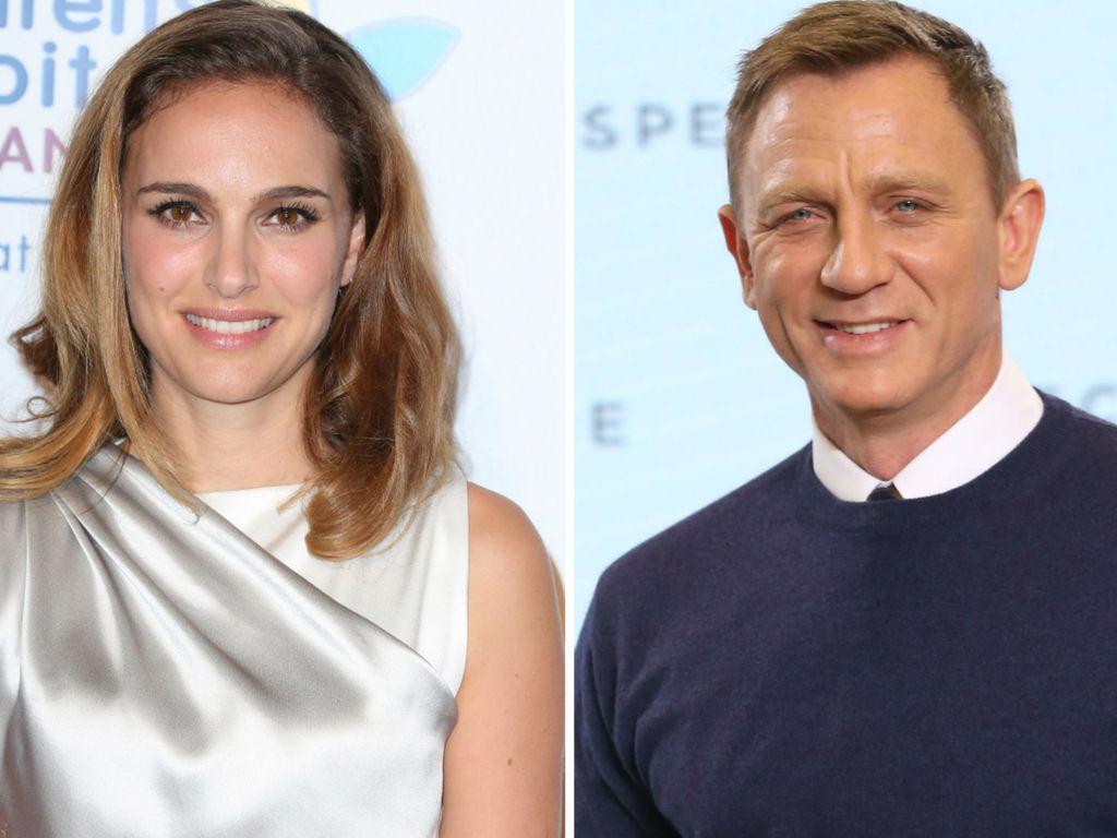 Daniel Craig und Natalie Portman