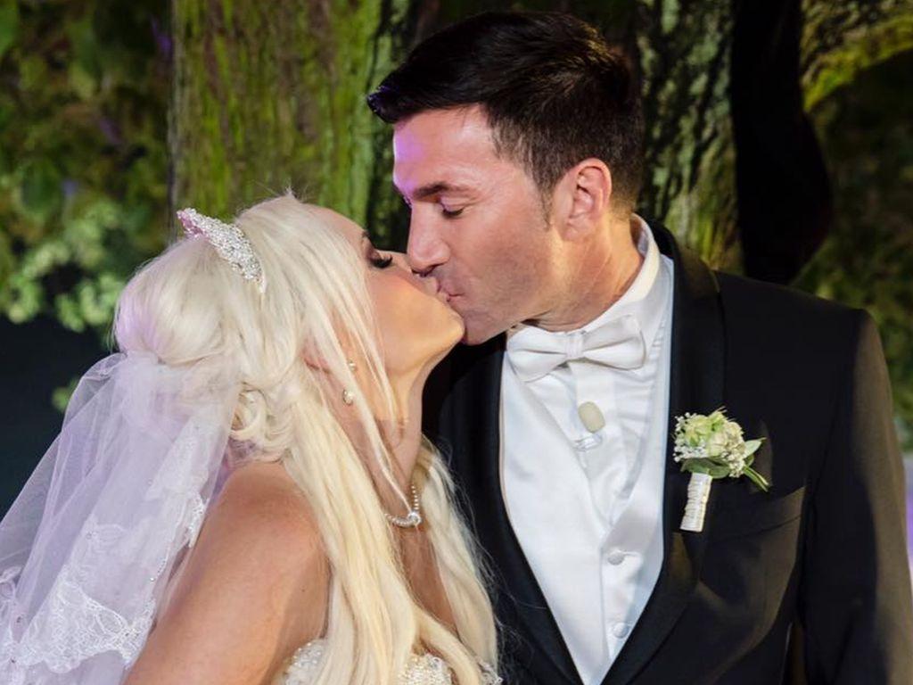 Daniela Katzenberger und Lucas Cordalis bei ihrer Hochzeit