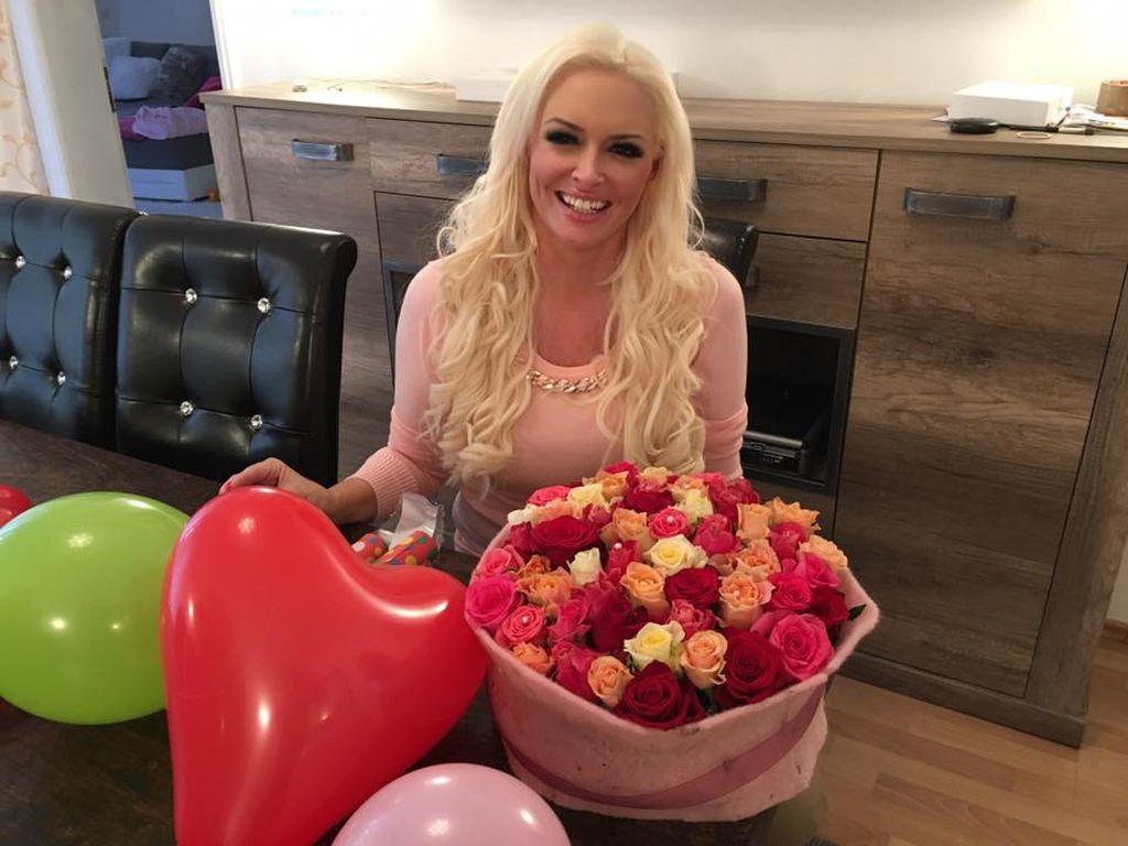 Daniela Katzenberger an ihrem 30. Geburtstag