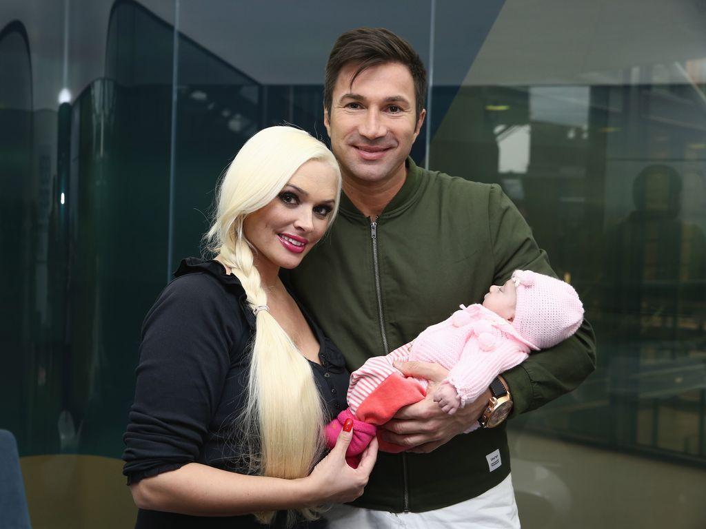 Daniela Katzenberger und Lucas Cordalis mit Töchterchen Sophia