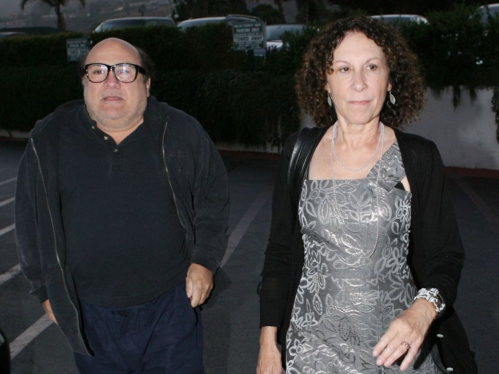 Schauspieler Danny DeVito und Ehefrau Rhea Perlman in 2008