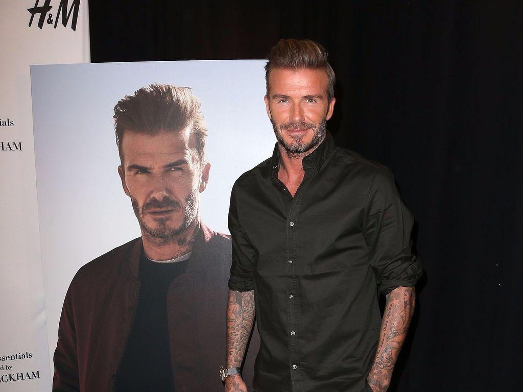 David Beckham bei einem H&M-Kollektions-Launch