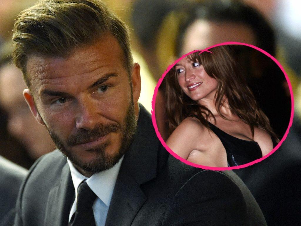 David Beckham und Rebecca Loos