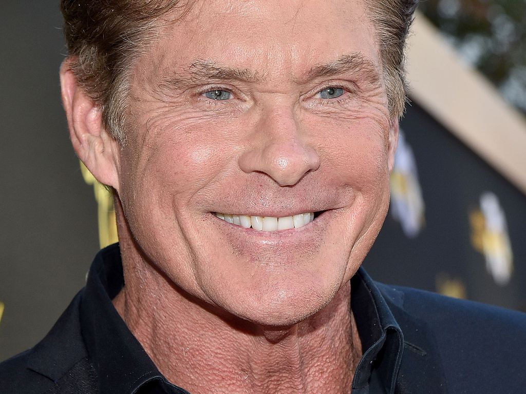 "David Hasselhoff bei der ""Television Academy's 70th Anniversary Gala"" in L.A."