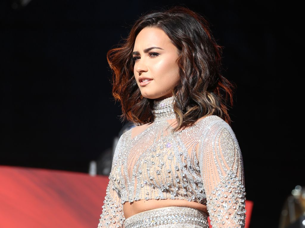 Demi Lovato beim Global Citizen Festival 2016 im Central Park