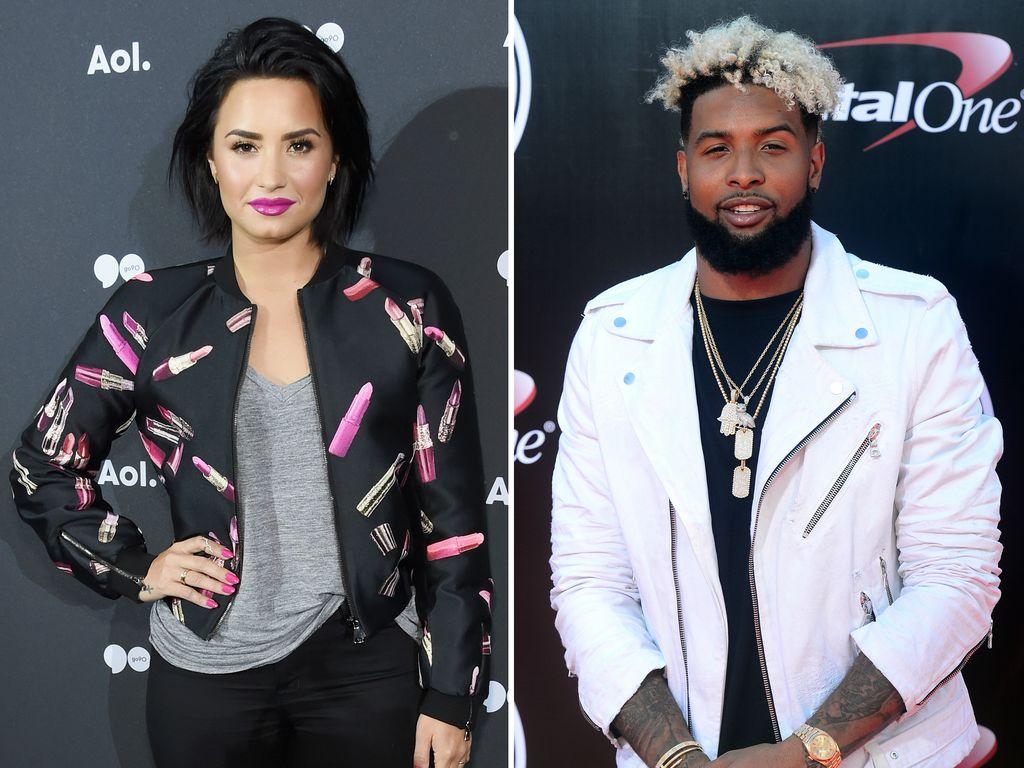 Demi Lovato und Odell Beckham Jr.