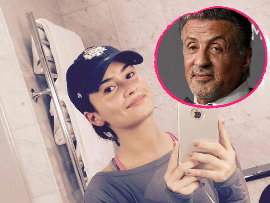 Demi Lovato und Sylvester Stallone
