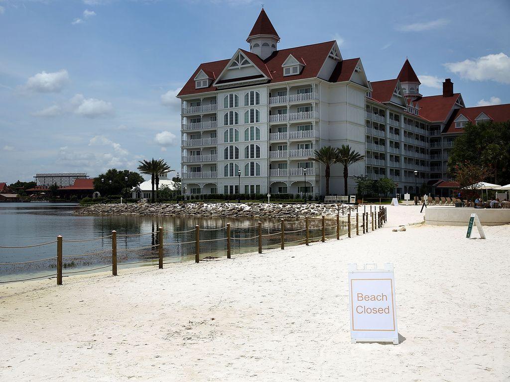 Der Strand im Disney Resort, an dem Lane Graves getötet wurde