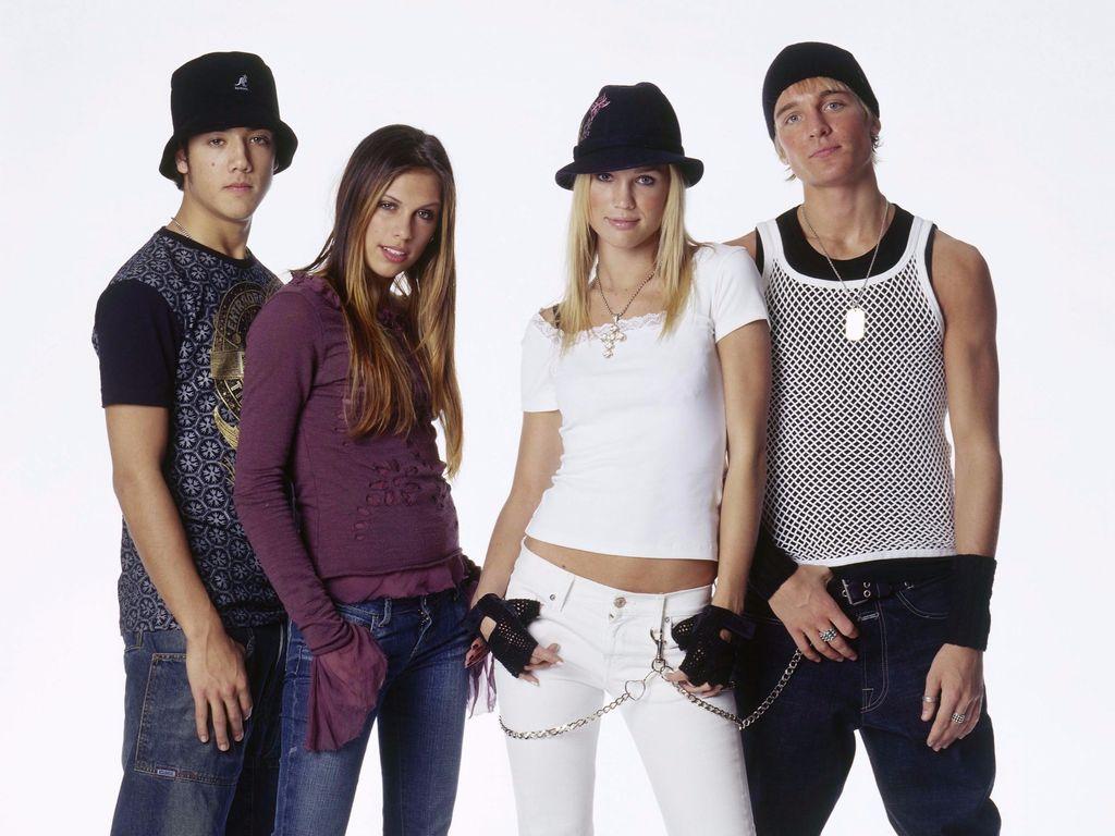 Die A*Teens früher bei einem Studiotermin in Köln