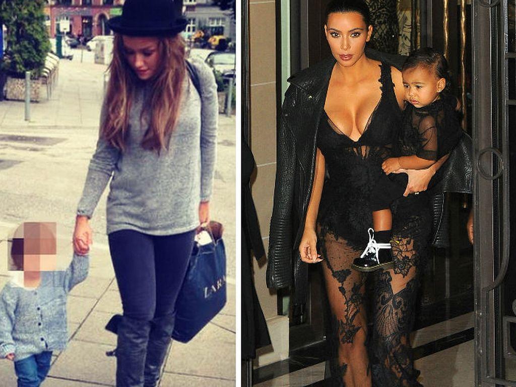 Kim Kardashian und Kim Debkowski