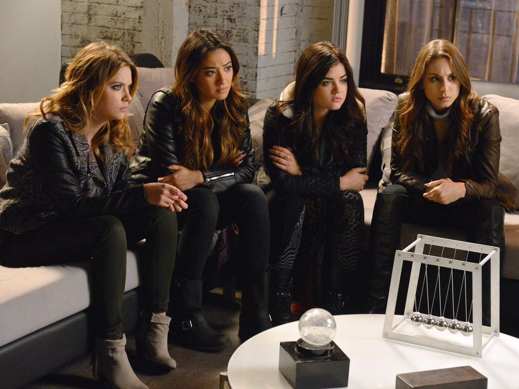 "Die ""Pretty Little Liars""-Girls"