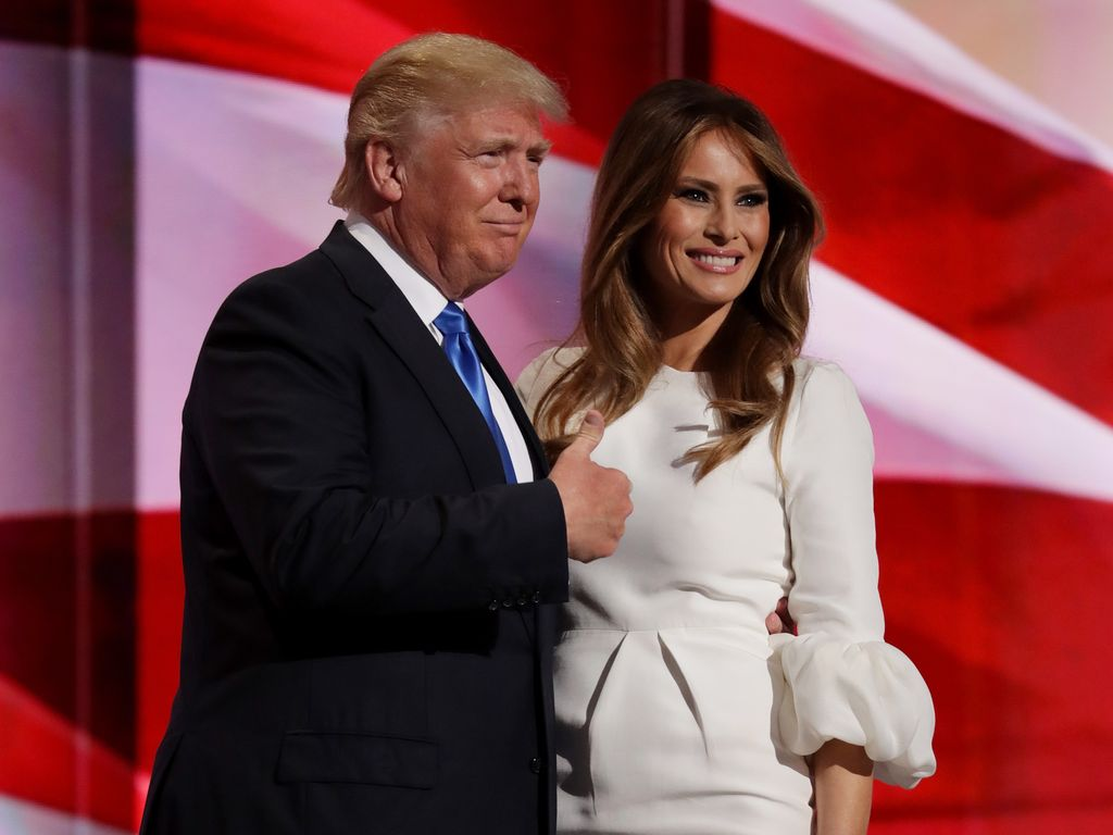 Donald Trump und seine Ehefrau Melania
