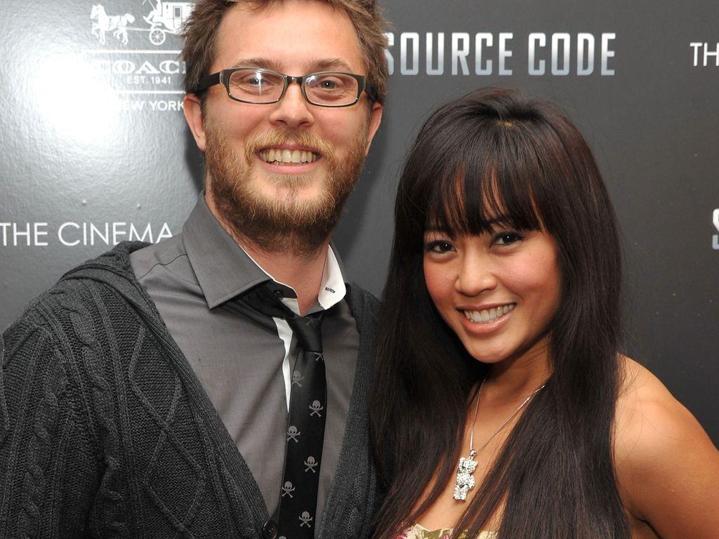 Duncan Jones mit seiner Frau
