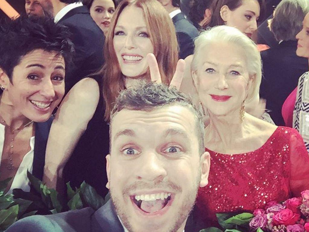 Helen Mirren, Julianne Moore, Edin Hasanovic und Dunja Hayali