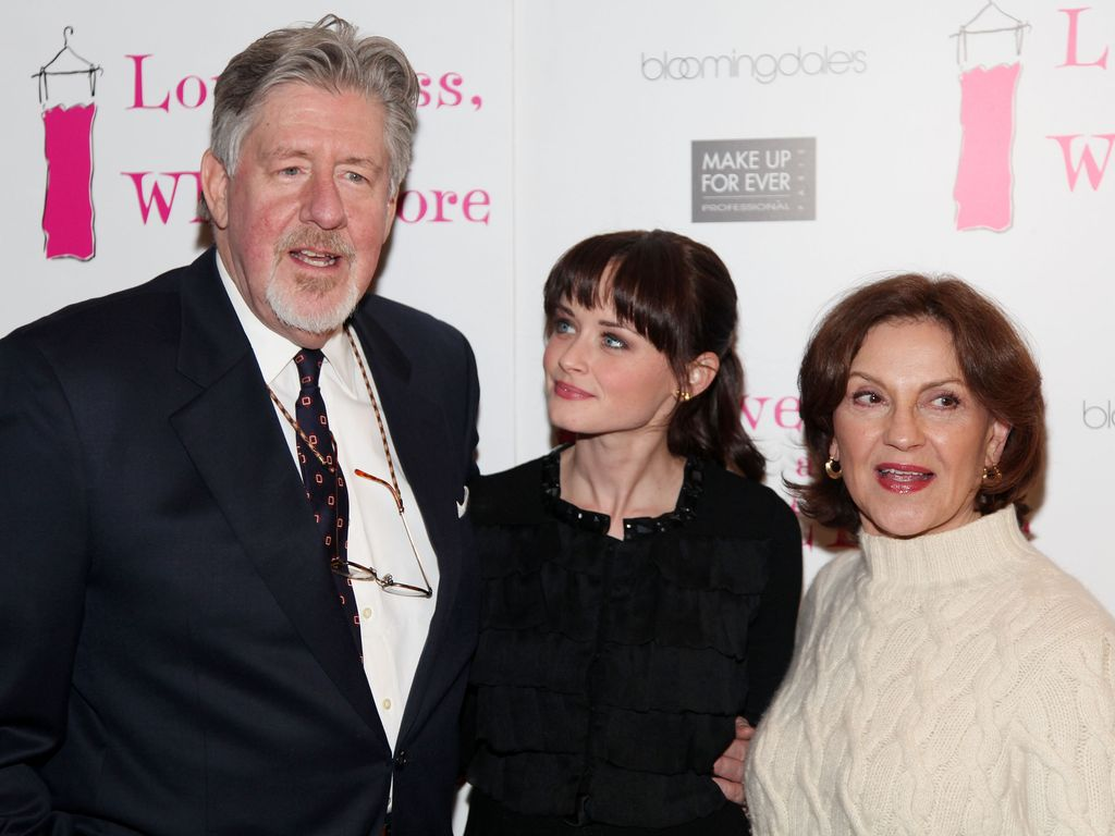 Alexis Bledel, Edward Herrmann und Kelly Bishop