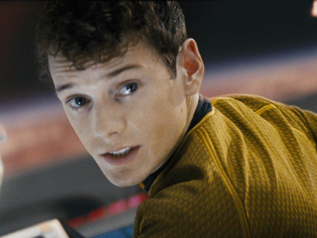 """Schauspieler Anton Yelchin in """"Star Trek"""" (2009)"""