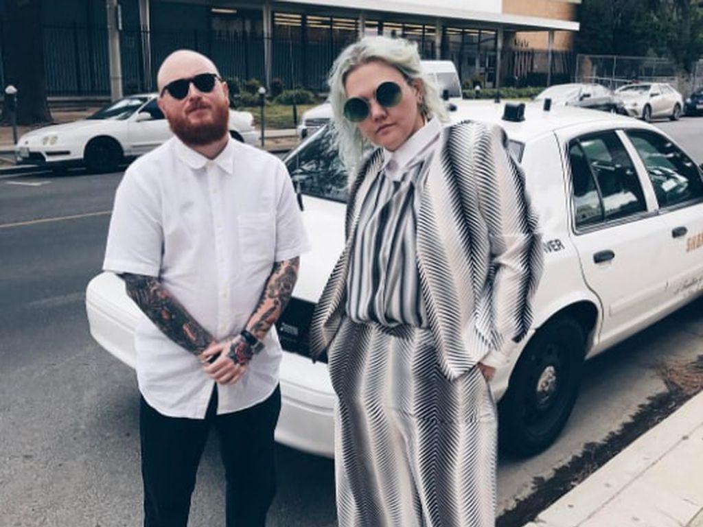Elle King mit ihrem Ex-Mann Andrew Ferguson, Mai 2017