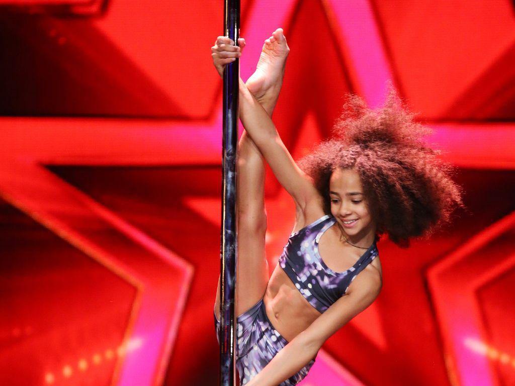 Emily Moskalenko beim Supertalent