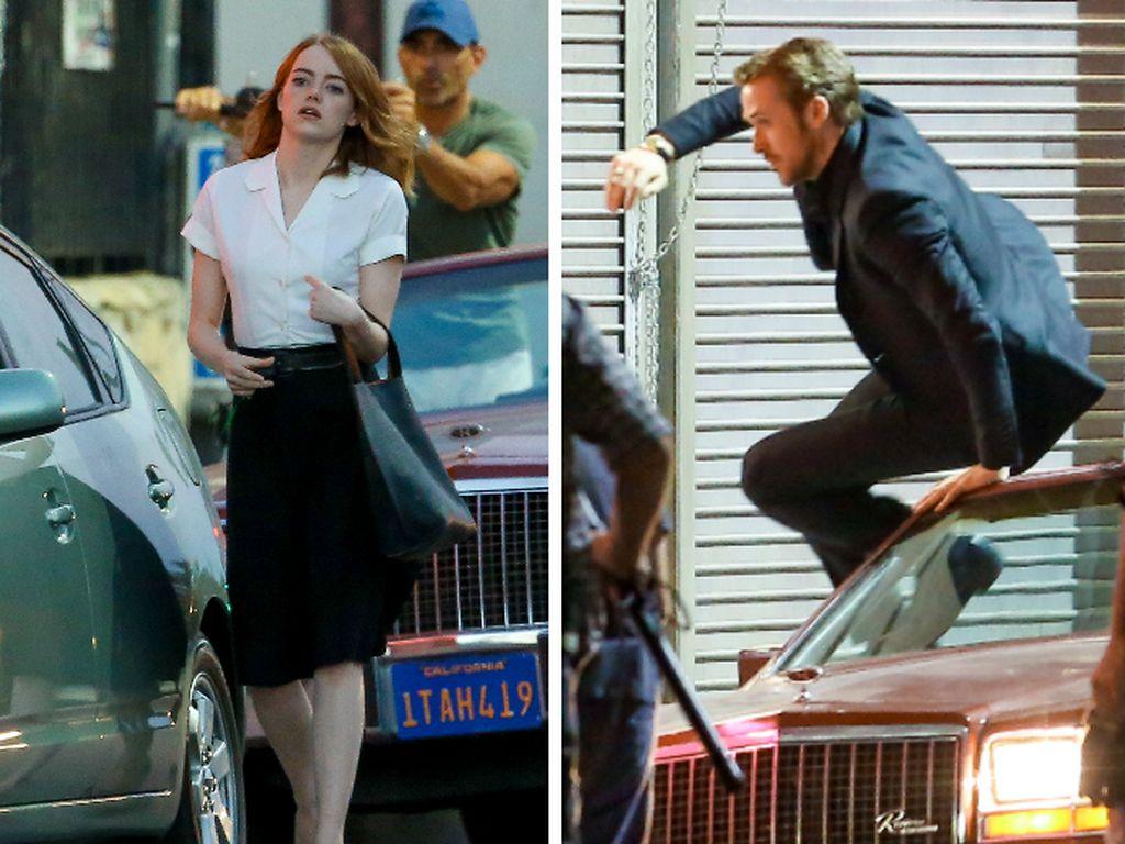 Ryan Gosling und Emma Stone