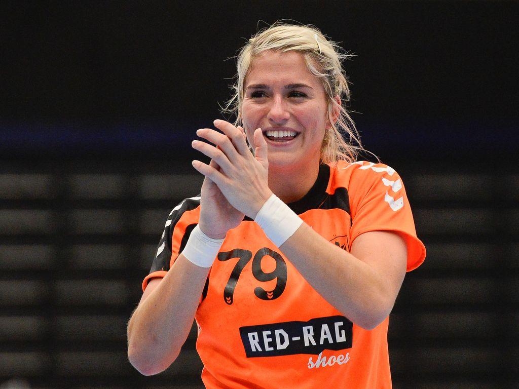Estavana Polman bei einem Handballspiel