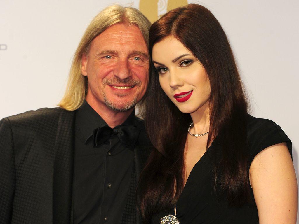 Frank Otto und Nathalie Volk bei der Echo-Verleihung 2016