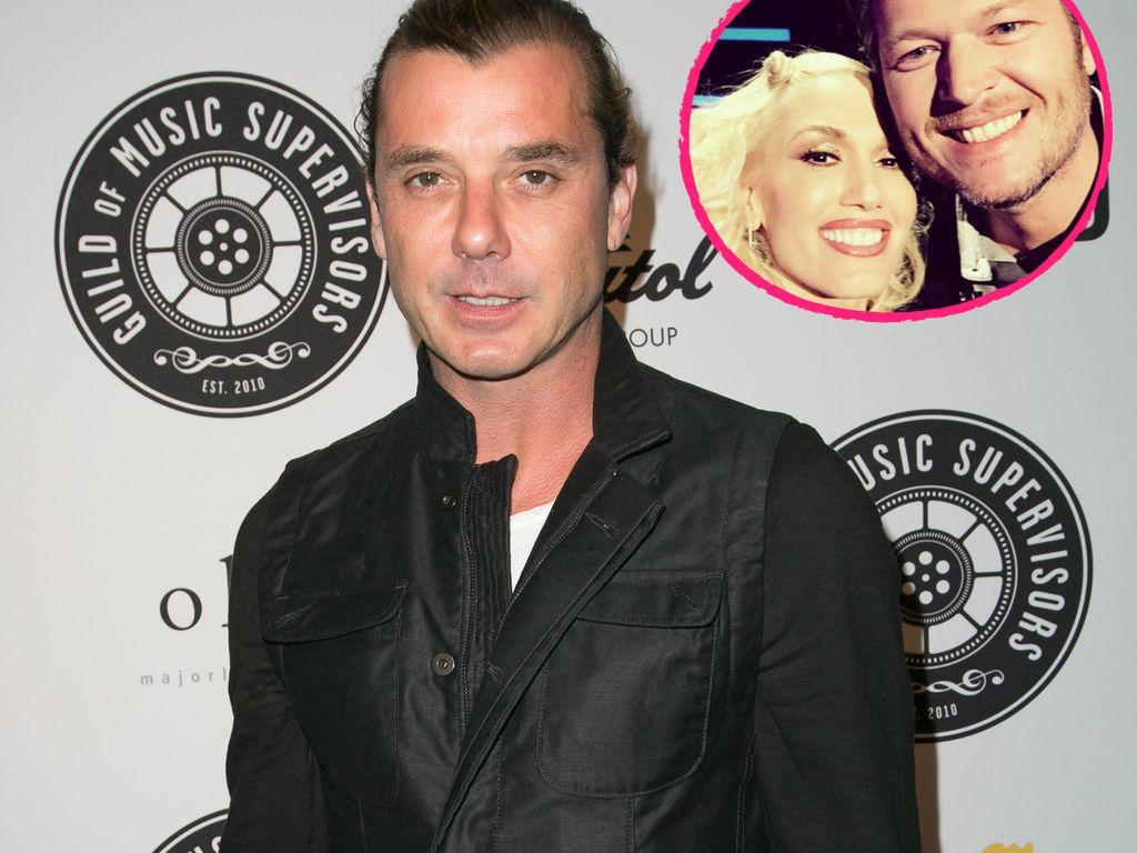 Gwen Stefani, Blake Shelton und Gavin Rossdale
