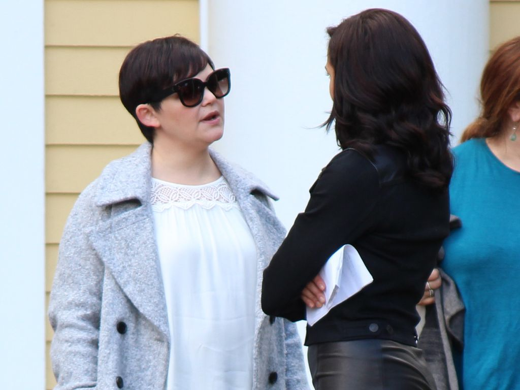 "Ginnifer Goodwin am Set von ""Once Upon A Time"""