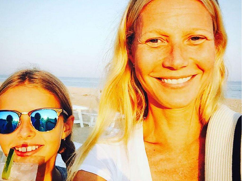 Gwyneth Paltrow und Apple Blythe Alison Martin