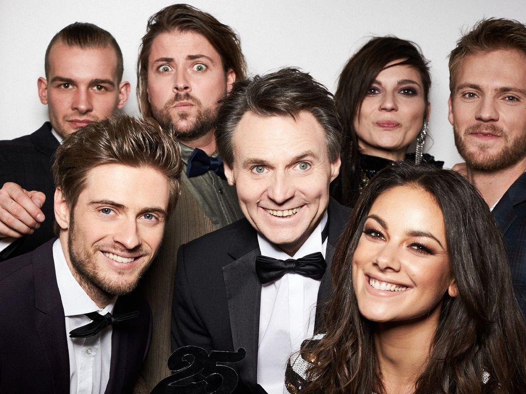 Eric, Jörn, Felix, Wolfgang, Linda Marlen, Janina und Niklas (v.l.)
