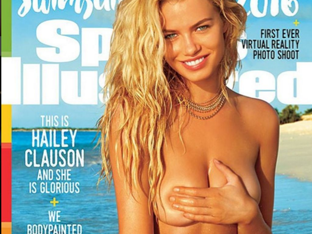 Hailey Clauson auf dem Cover der Sports Illustrated