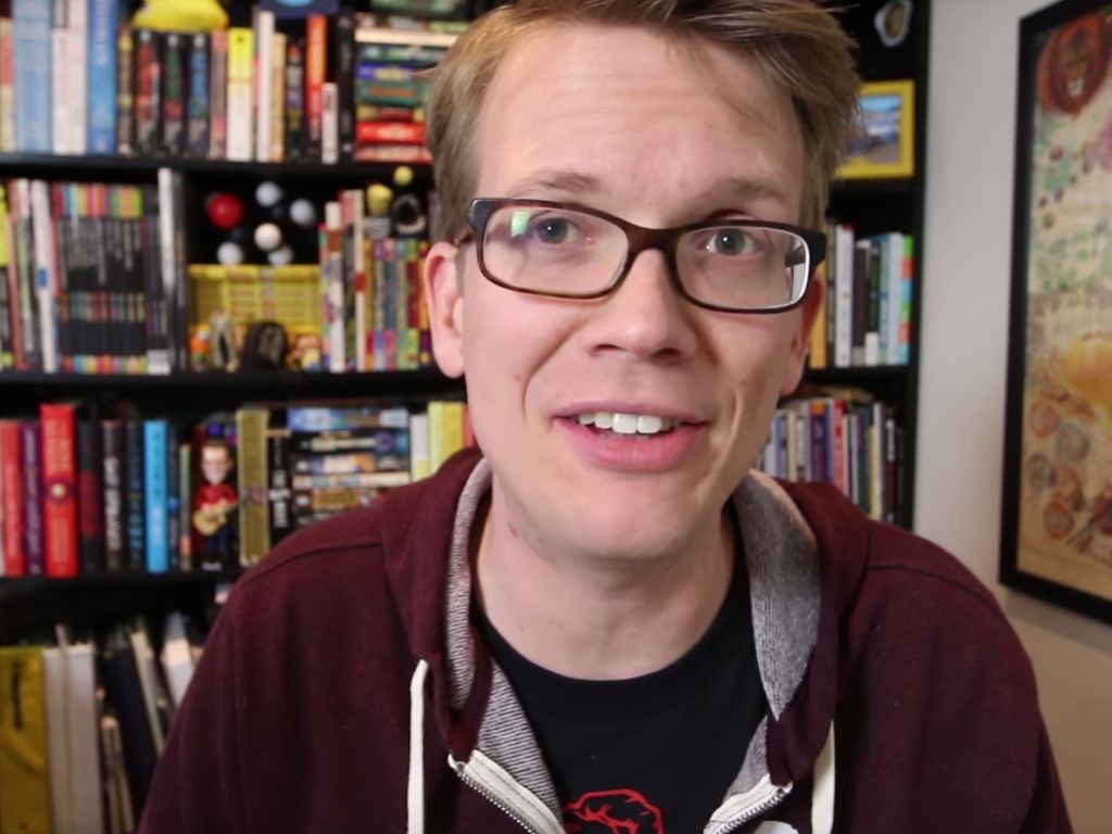 Hank Green in einem YouTube-Clip