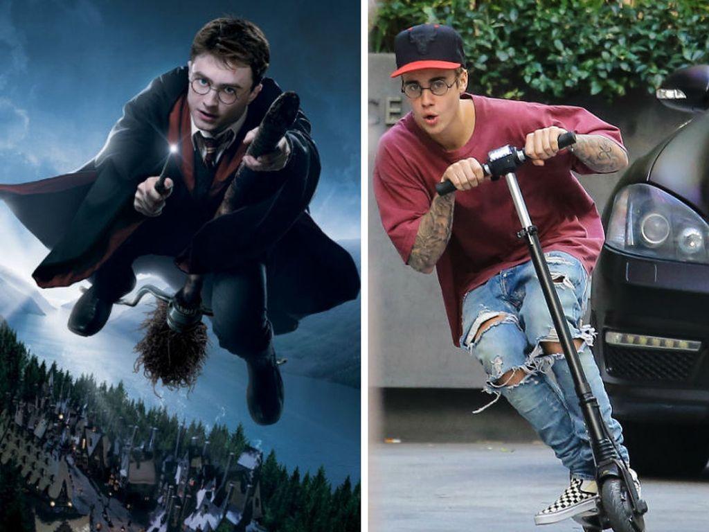 Justin Bieber und Daniel Radcliffe