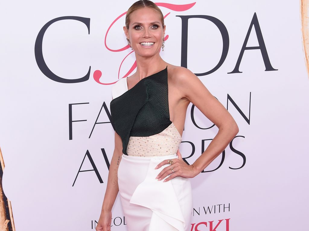 Heidi Klum bei den CFDA Fashion Awards 2016