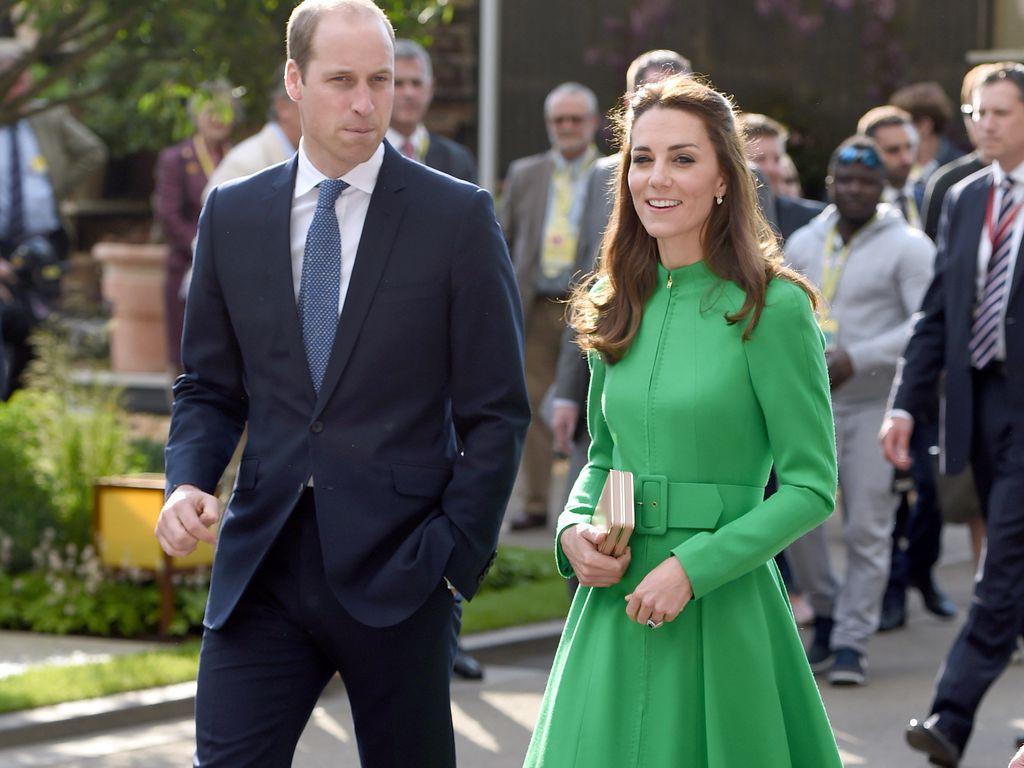 Herzogin Kate und Prinz William auf der Chelsea Flowers Show
